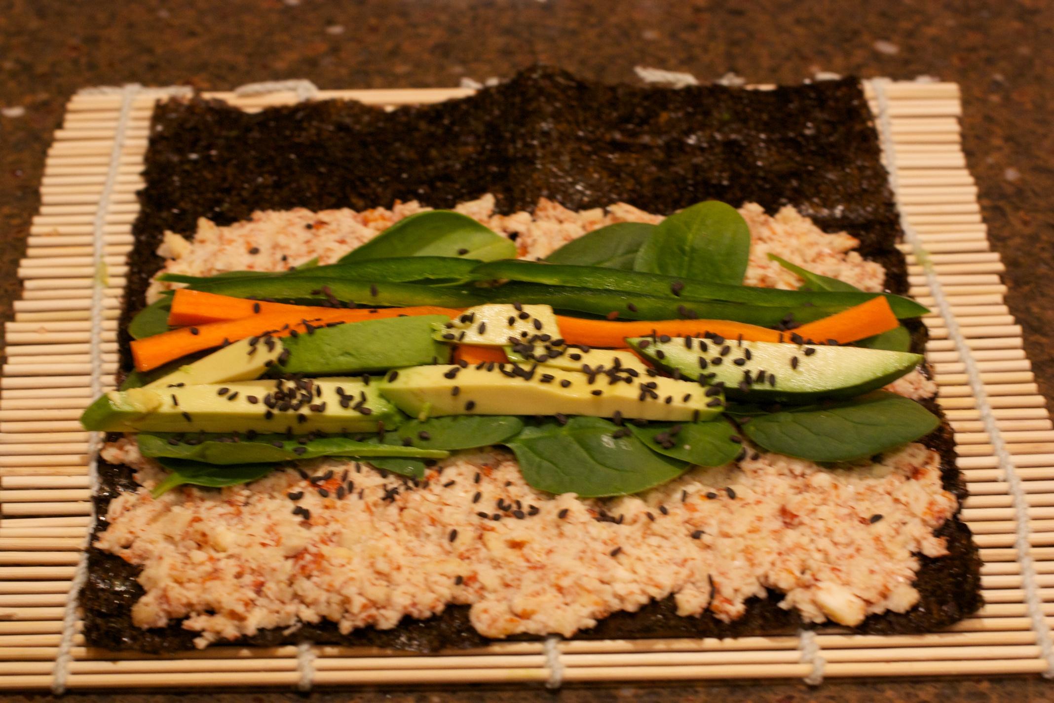 Why Not Wednesdays Raw Vegan Sushi Sweet Sensibility